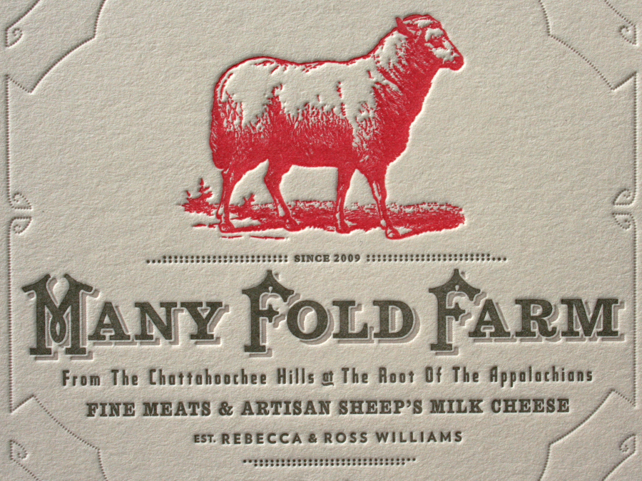 Many Fold Farm Business Cards — STUDIO ON FIRE