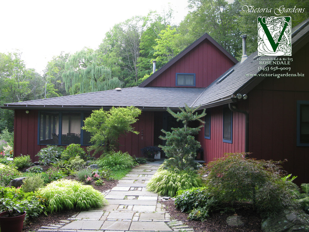 Landscaping Before and After Photos in Glenford, NY — Victoria Gardens