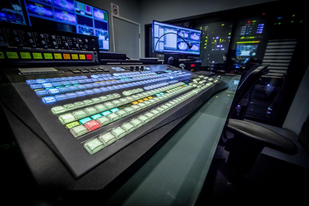 Live Studio Control Room -
