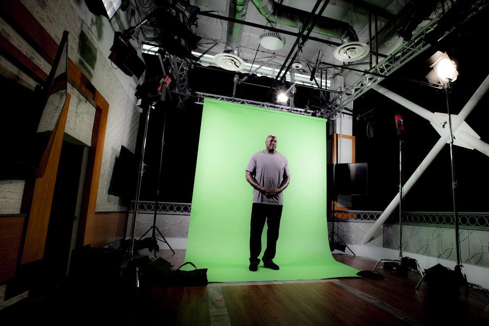 Green screen -