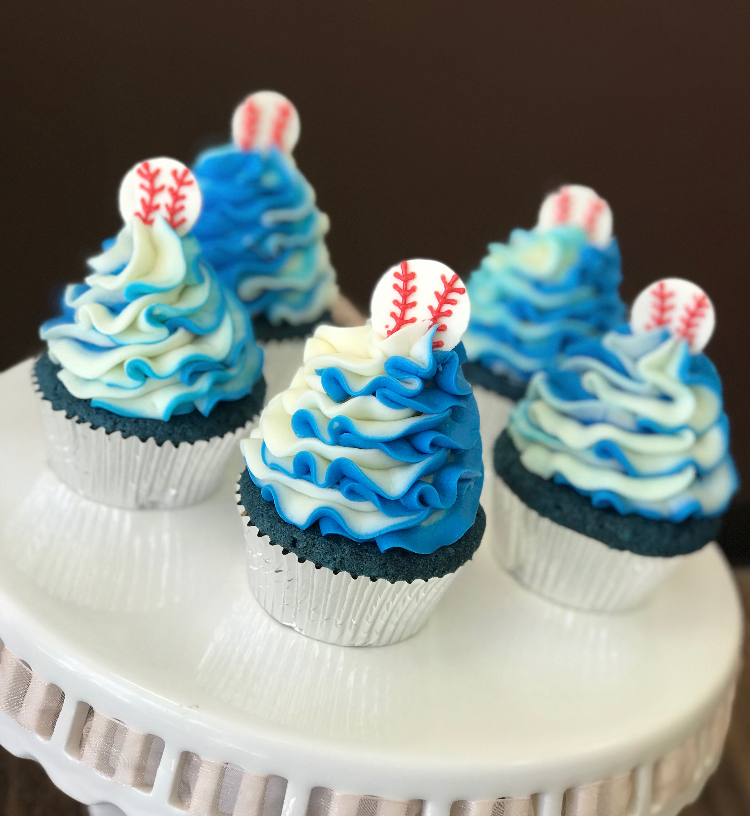 Dodgers Cupcakes