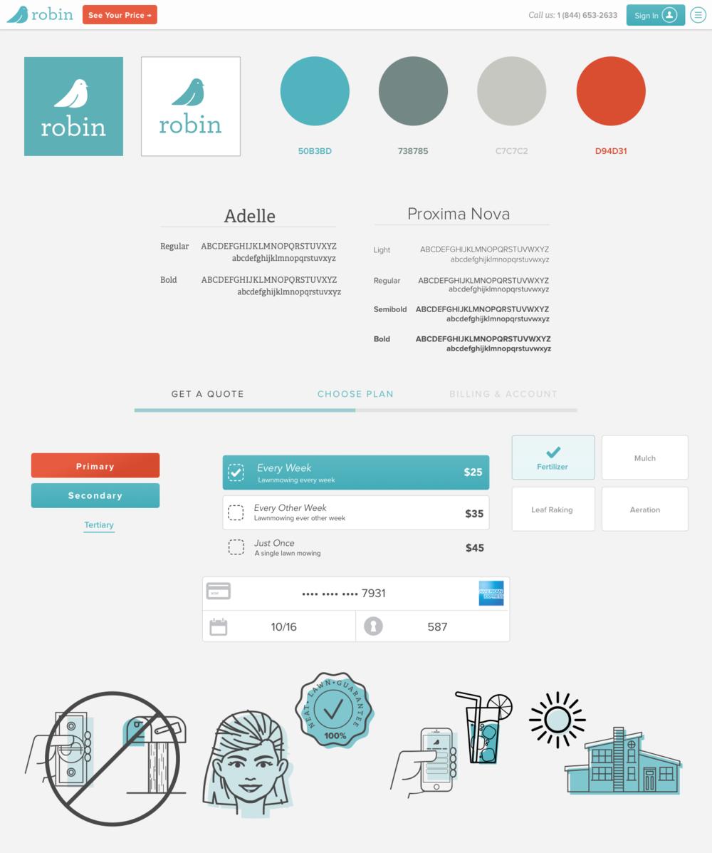 Web Site Style Tiles
