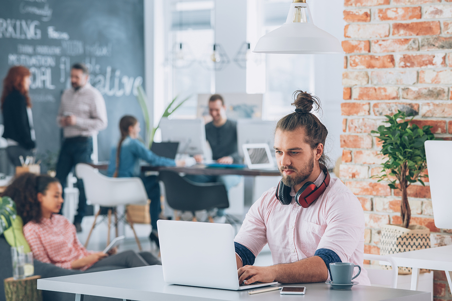 Co-working spaces can really help boost productivity as well as combat loneliness.