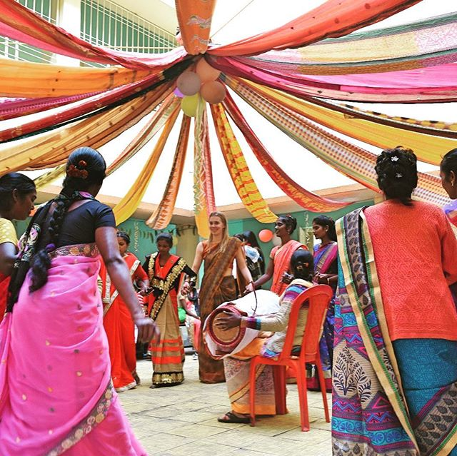 A few weeks ago we had our first open day at our workshop in the rural tribal area of Ranchi! Our women stepped on stage and shared their stories of how Paces Crafts has changed their lives. The result was heart touching and inspiring at the same time!  #sharingstories #womenempowerment #proud #gratefull 🙏❤️💪