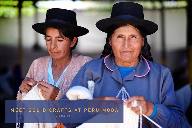 We're looking forward to meet sustainable brands and retailers. Come and say hi @perumodaoficial from 10/4 to 12/4! Let women like Rosa ale Maria knit your design.  #letsrisebyliftingothers #perumoda #knitwear #sustainablebrand #slowfashion #fairtradefashion #fashiontradefair #ethicalfashion #fashionrevolution #handknits #supportwomen #