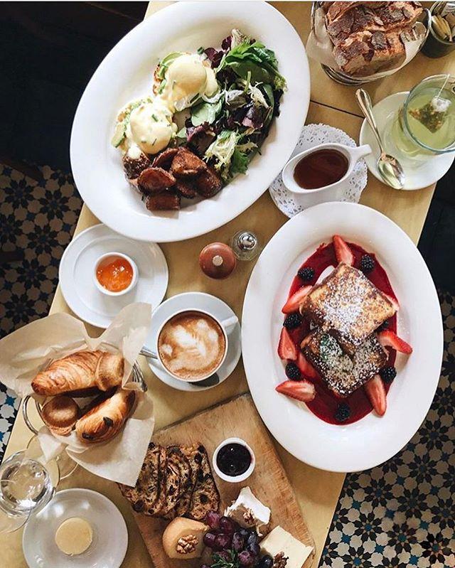 Feelin' a little brunch-envy over here... 📸 by @maddietsang . . . . . . #brunch #cafedalsace #frenchtoast #eggs #cheese #eggsbenedict #bread #coffee #caffeine #breakfast #lunch #eeeeeats #eaterny #eatingnyc #feedfeed #f52grams #foodporn #foodgasm #feast #buzzfeast #thrillist #flatlay #nycrestaurants #newforkcity #nyc #ues