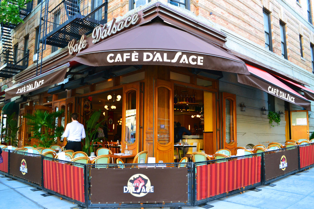 Cafe d'Alsace - 1695 2nd Ave (at 88th St) New York, NY 10128