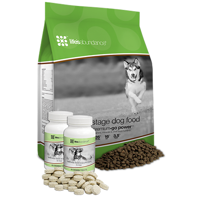 - All Stage dog food with Wellness treats