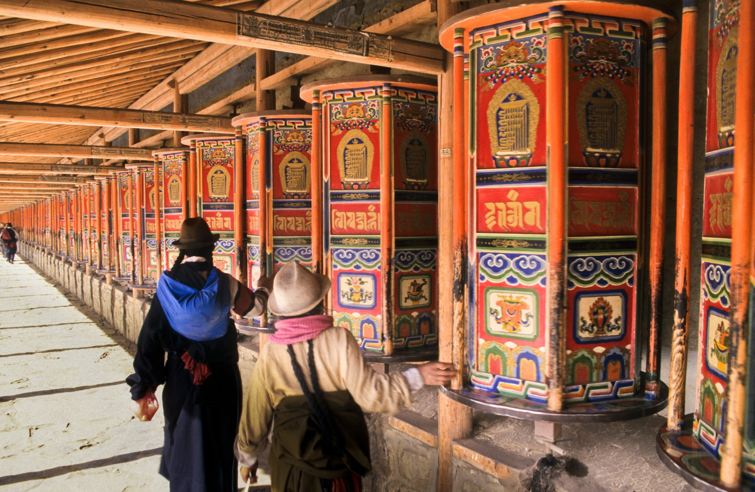 Silk Road, Western China