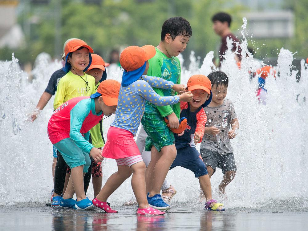 Seoul | hot summer day