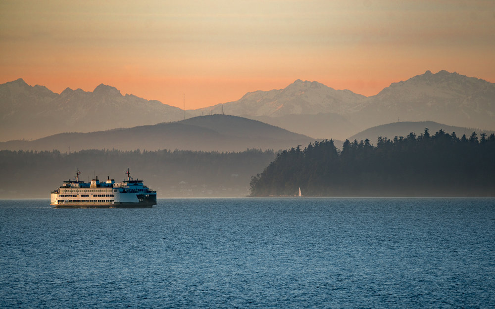 Harper, WA |Fauntleroy ferry
