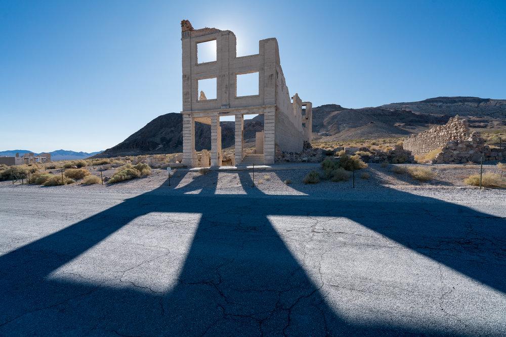 Rhyolite | ghost town