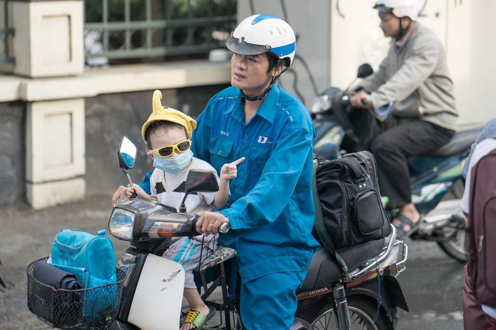 "Saigon | ""this way, Dad"""
