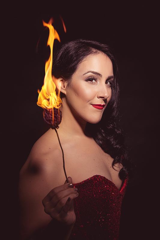 Cassandra Fire Trick