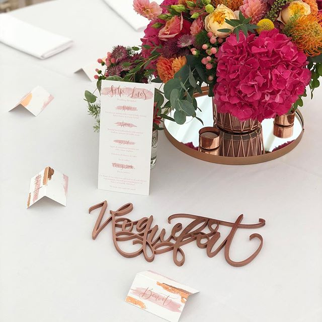 {W E D D I N G  S E T  U P} . Setting up for a wedding (especially a friend's!) is almost as lovely as the day itself. Family, friends & laughter all around. I can't wait to see the finished marquee tomorrow 💓🇬🇧💓🇫🇷💓. Amazing 💐🌷🌸🌺by Make98. . #deliriumcalligraphy #allpinkeverything #whycantchartreusebepink #coppereverywhere #sosoandloulou #ukweddingstationer #lasercut #creativewedding #calligraphy #moderncalligraphy #bespokecalligraphy #calligraphylove #weddingstationery #stationery #calligraphyuk #weddinglondon #calligraphylondon #ukwedding #calligraphystyle #modernlettering #blushpinkwedding #make98 #loveisallaround #passthecheese #frenchenglishwedding #copperwedding