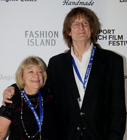 Producer Sandra Warren and Director John Anderson attend the  HORN FROM THE HEART World Premiere
