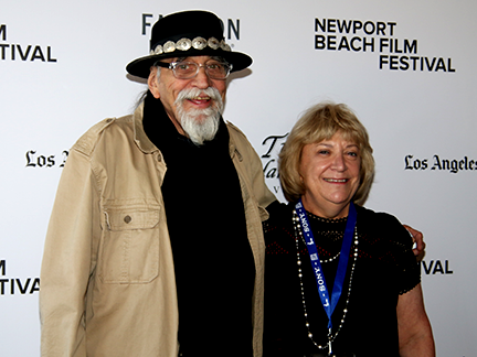 Trumpeter Steve Madaio and Producer Sandra Warren attend the HORN FROM THE HEART World Premiere