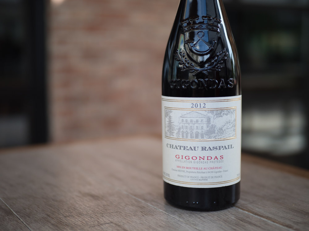 Musings by the Glass - Costco Corner - Chateau Raspail Wine from Southern Rhone Valley, France