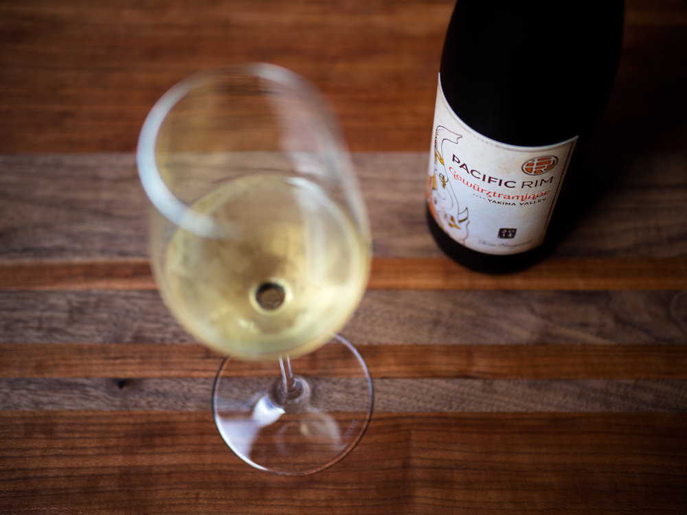 Musings by the Glass - BYOB Pairing Conundrum - Gewurztraminer