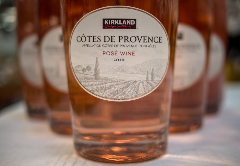 Musings by the Glass - Costco Corner - Kirkland Cotes de Provence Rose