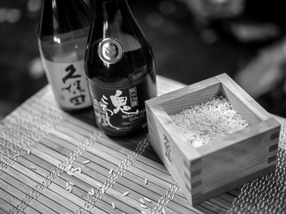 Musings by the Masu - Sake Science 101 - Sake Bottles (Black and White)