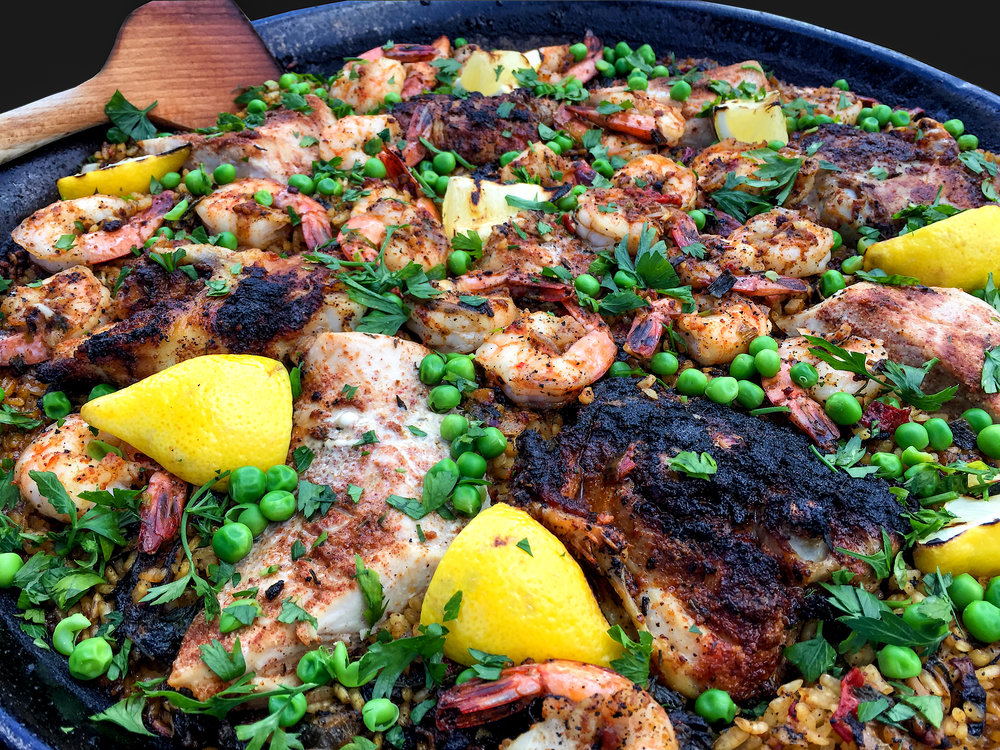 Musings by the Glass - Sake Pairing Expansion - Paella