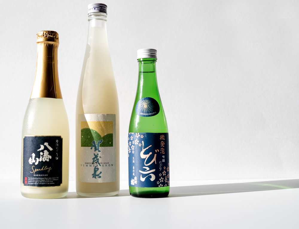 Musings by the Glass - Sake-Confection Hypothesis - Dessert Sake Pairings