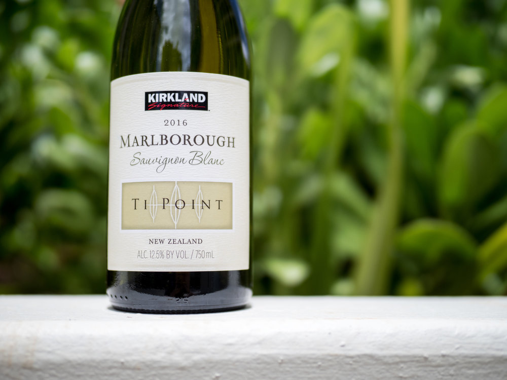 Musings by the Glass - Costco Corner - Kirkland Ti Point Sauvignon Blanc