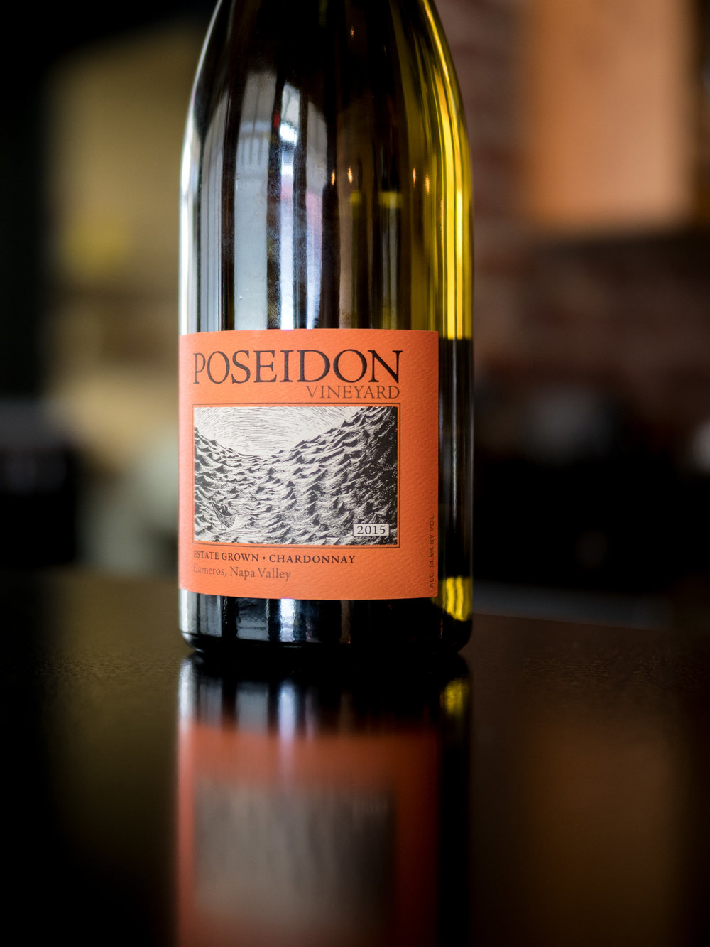 Musings by the Glass - Deductive Challenge - Poseidon Estate Grown Chardonnay Los Carneros California