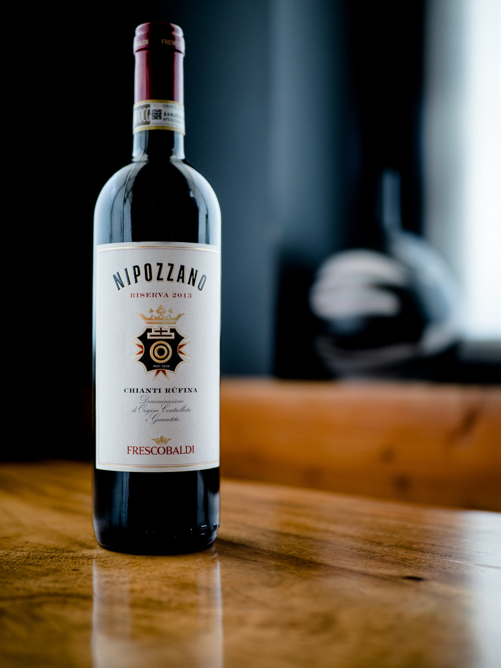 Musings by the Glass - Deductive Challenge - Nipozzano Chianti Rufina Sangiovese Italy