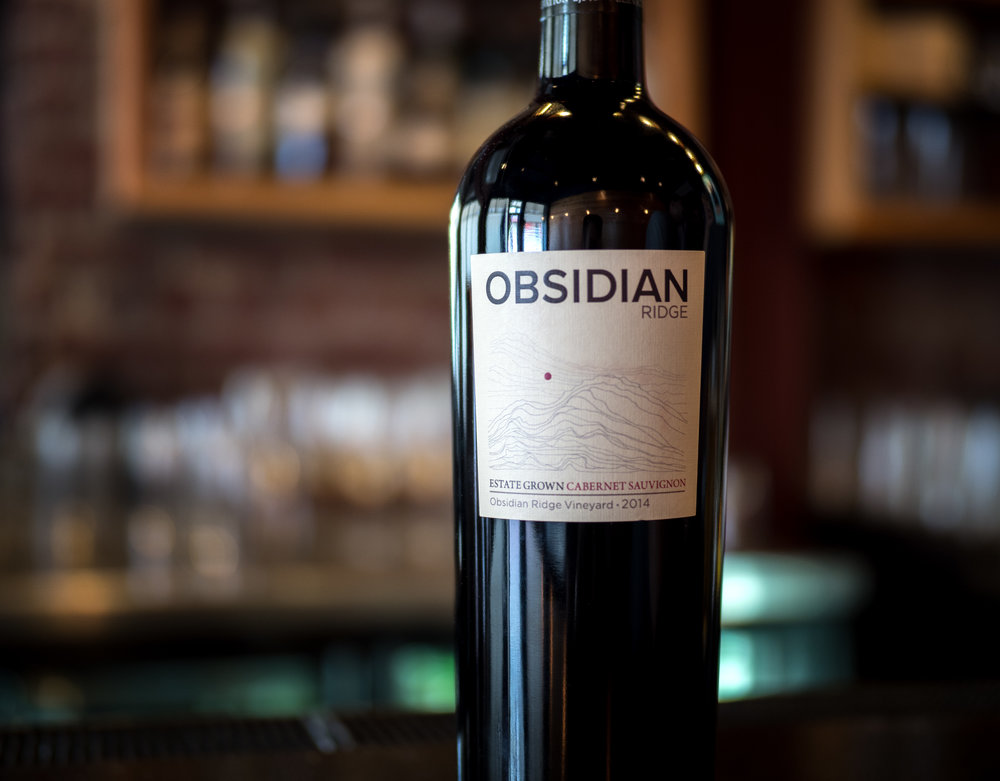 Musings by the Glass - Deductive Challenge - Obsidian Ridge Cabernet Sauvignon Clear Lake California