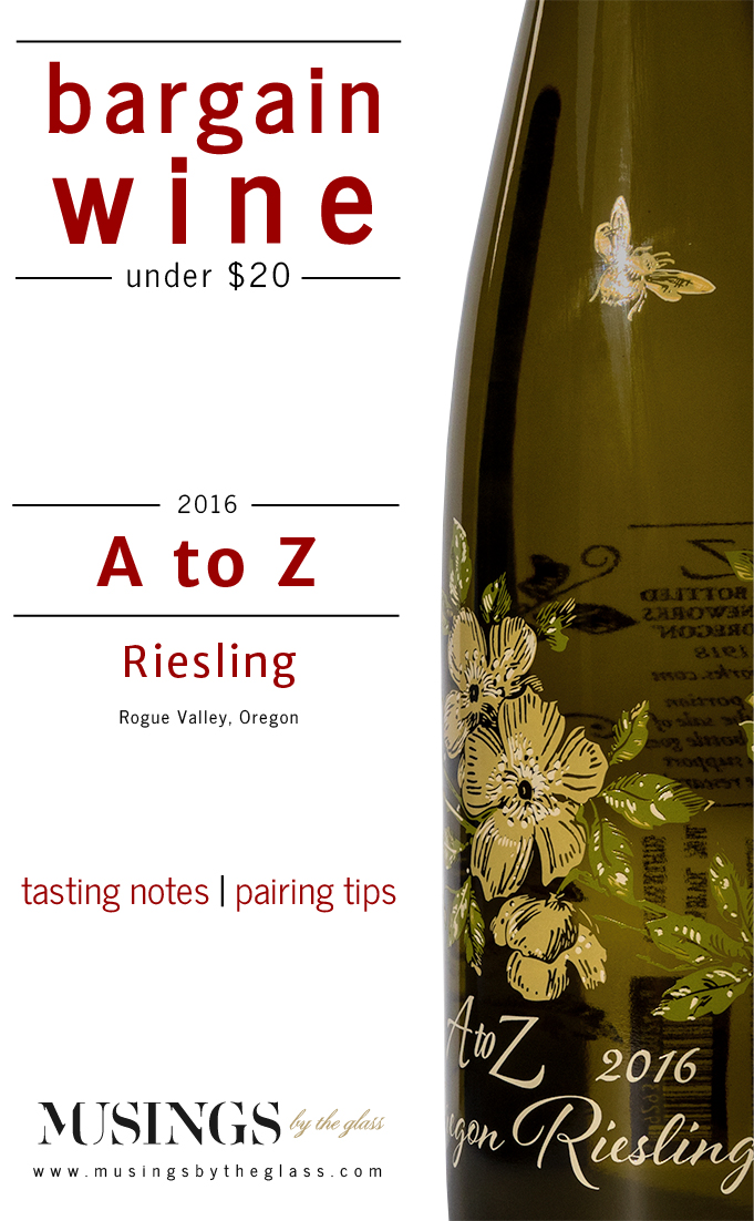 Musings by the Glass - Costco Corner - A to Z Riesling