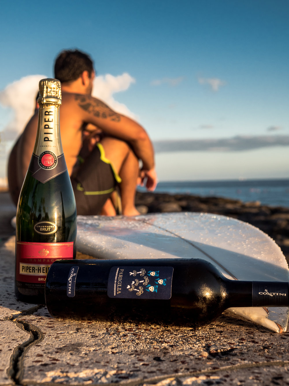 Musings by the Glass - Musings by the Surf - Wines to Sip with Surf and Sunsets
