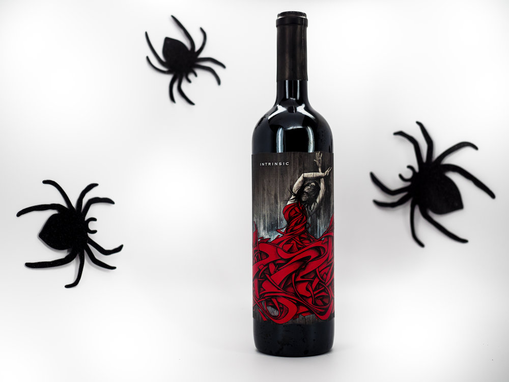 Musings by the Glass - Tips and Recommendations for Spooky Wines for your Halloween Party - 2015 Intrinsic Cabernet Sauvignon Columbia Valley Washington