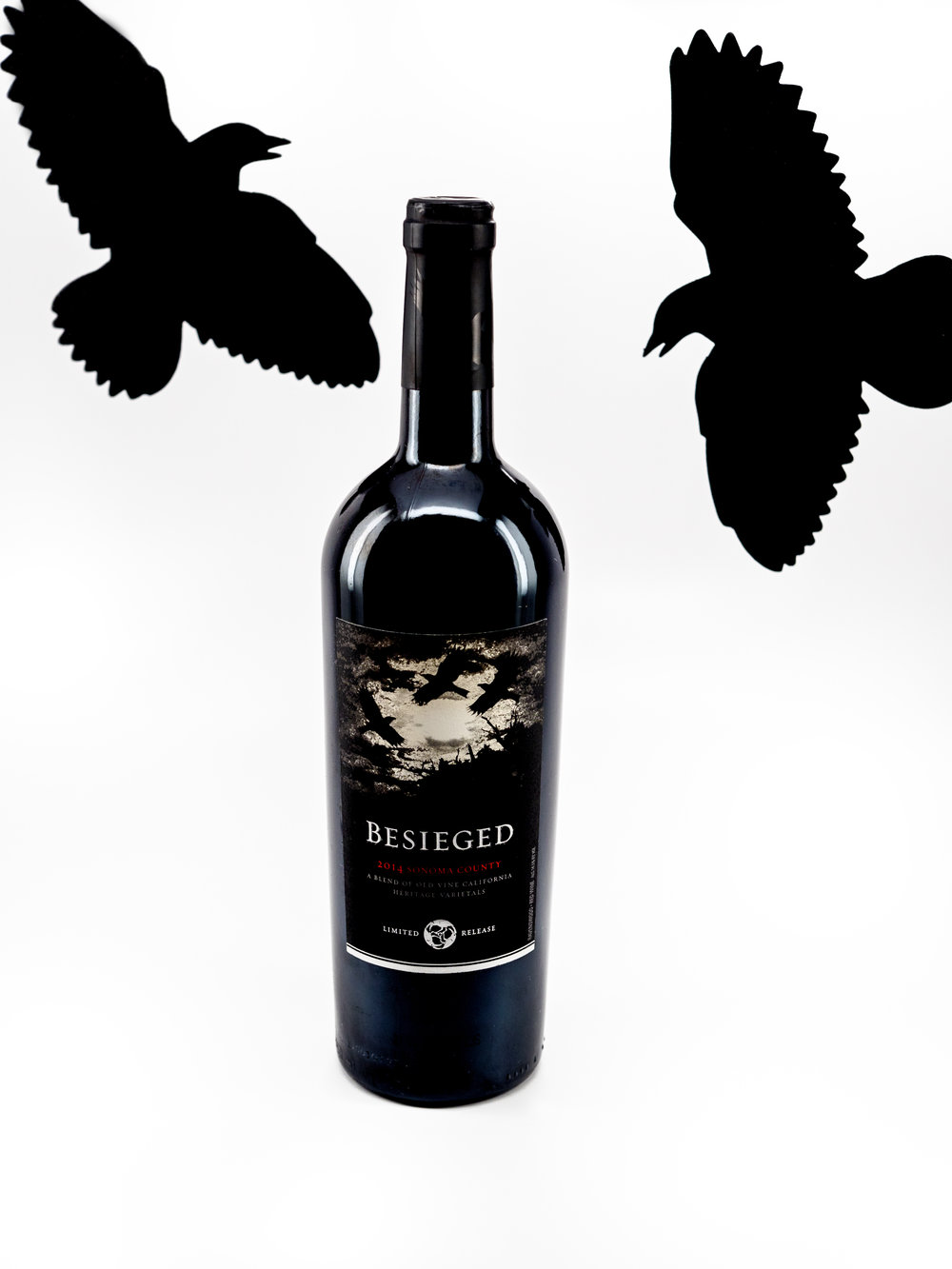 Musings by the Glass - Tips and Recommendations for Spooky Wines for your Halloween Party - Ravenswood Beseiged Red Blend Sonoma Valley California