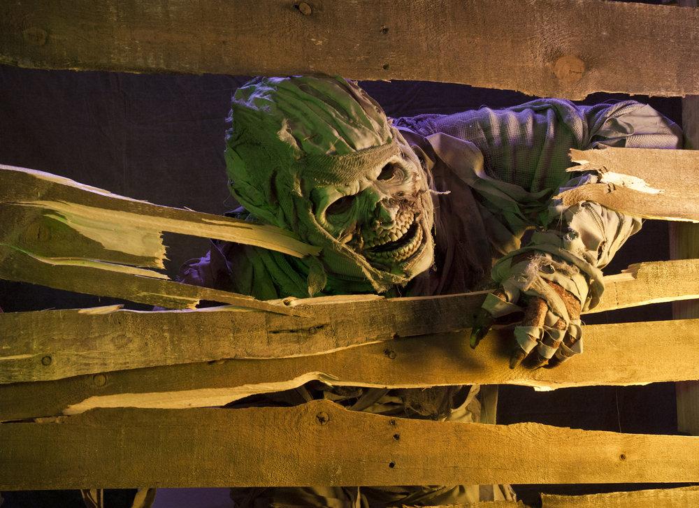 Curse of the Crypt. Be afraid; be very afraid.