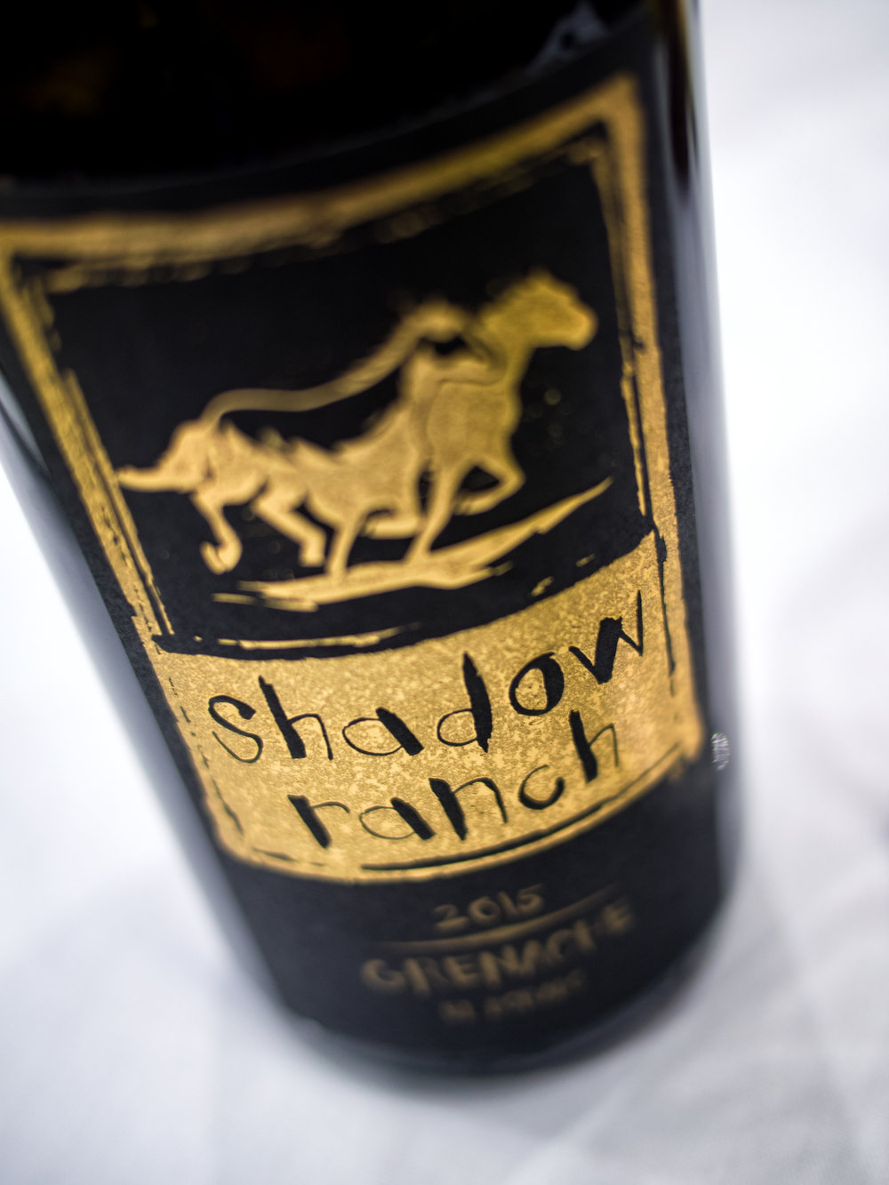 Musings by the Glass - Wines from Wine Bloggers Conference - Shadow Rance Grenache El Dorado California