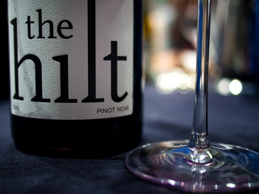 Musings by the Glass - Wines from Wine Bloggers Conference - The Hilt Pinot Noir Sta. Rita Hills Santa Barbara California