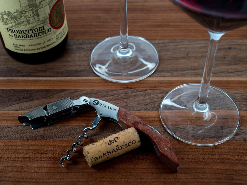 Musings by the Glass - Vino Pairing Optimization - Barbaresco Cork