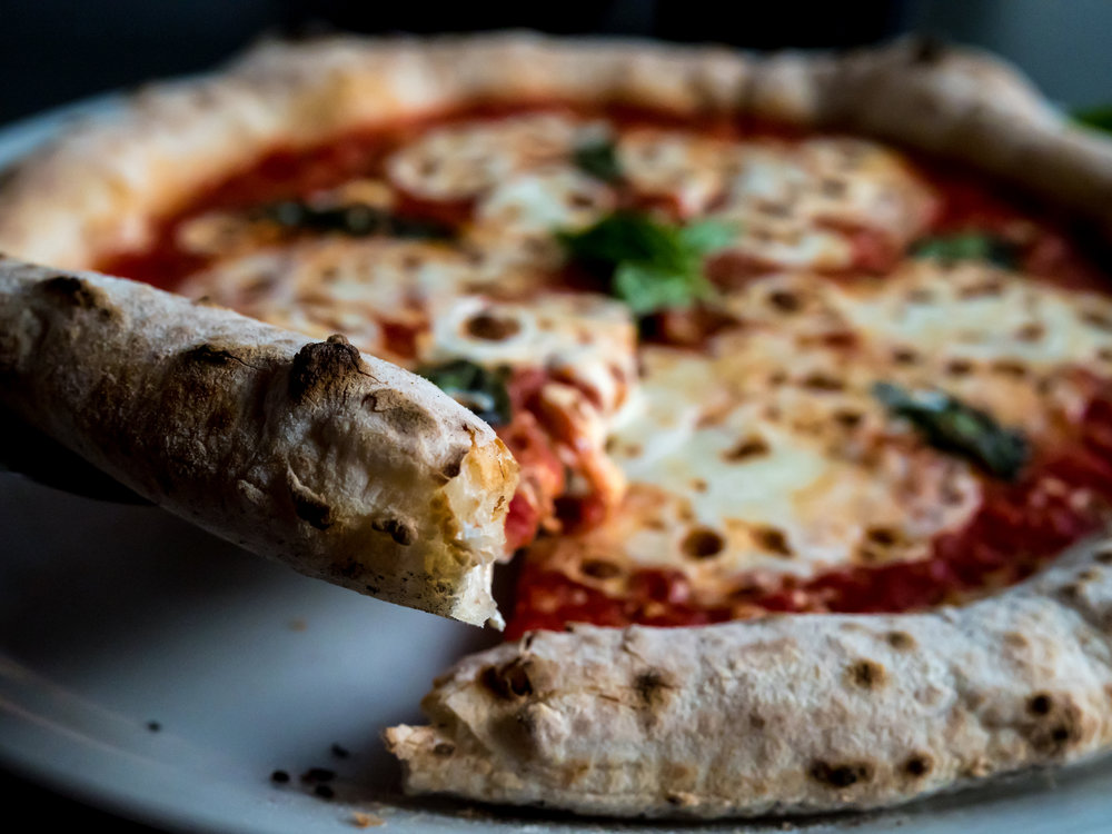 Musings by the Glass - Pizza and Wine Pairing Expansion - Margherita Pizza at Brick Fire Tavern in Honolulu