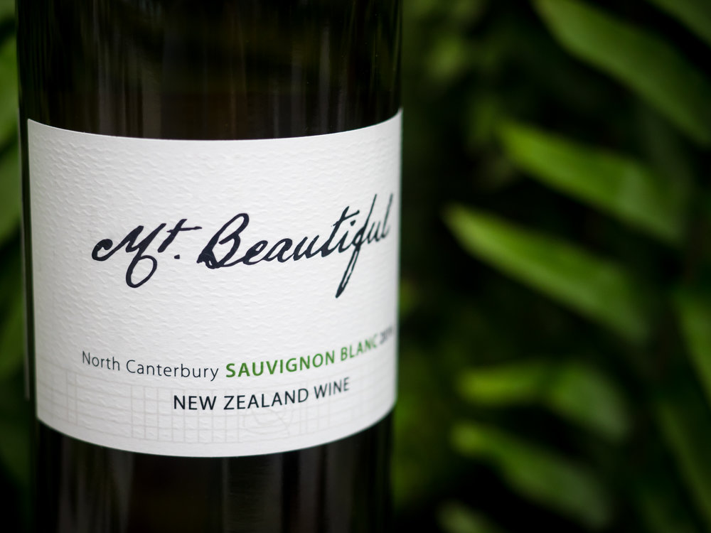 Musings by the Glass - The Pineapple-Kiwi Combination - Mt. Beautiful Sauvignon Blanc