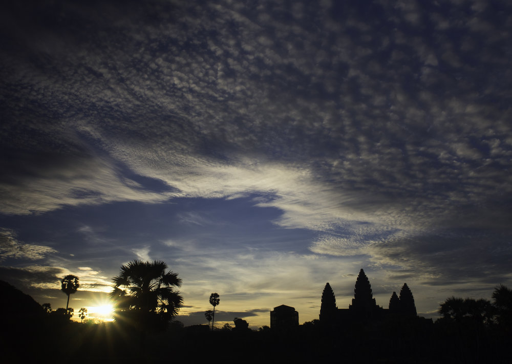 Musings by the Glass - Visual Musings - Sunrise over Angkor Wat
