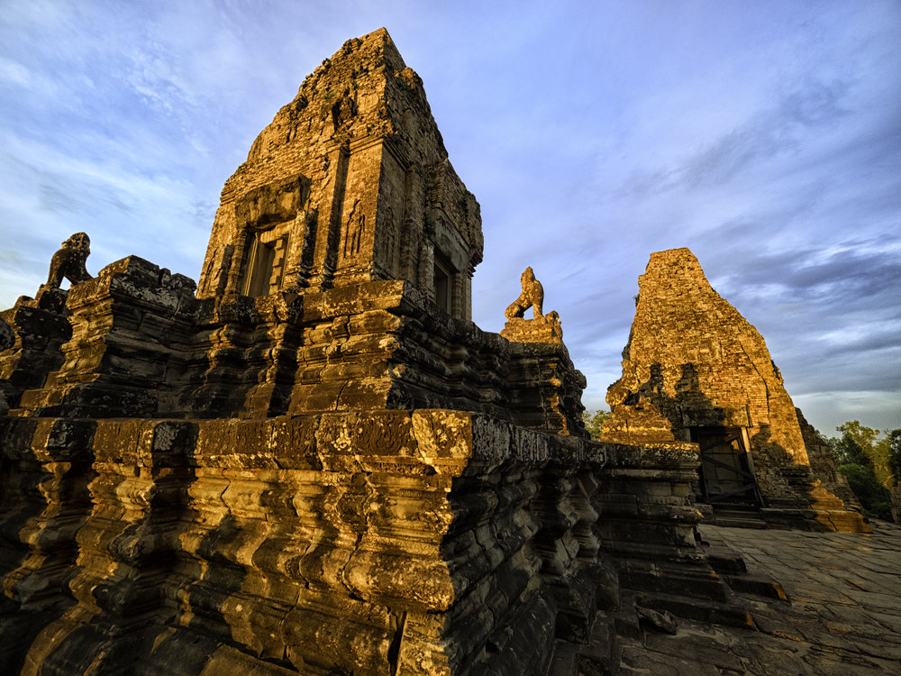 Musings by the Glass - Visual Musings - Cambodian Restrospective - Bayon Temple in Angkor Wat