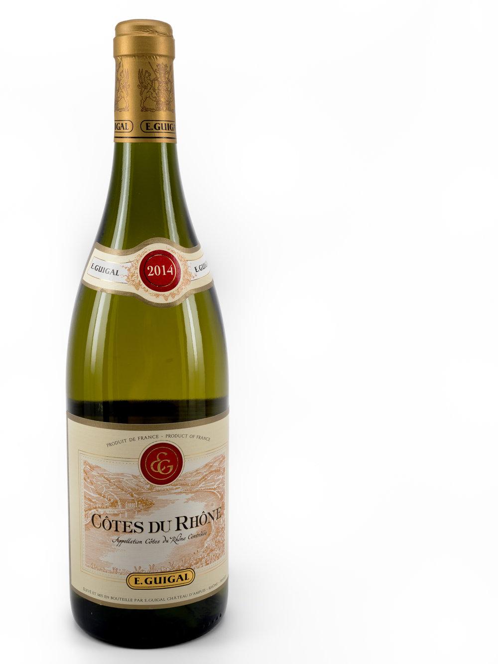 Vinous Label Elucidation - Decoding Rhone Valley Wine Labels - Cotes-du-Rhone Blanc