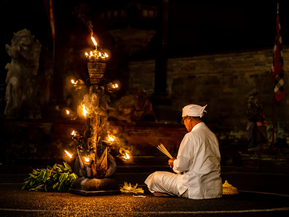 Musings by the Glass - Bali Photo Essay - Offerings