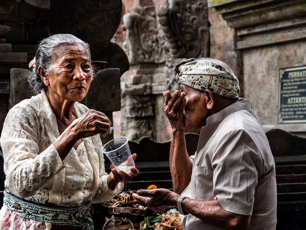 Musings by the Glass - Bali Photo Essay - Temple Cleansing