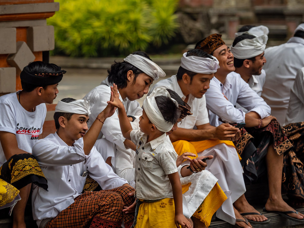 Musings by the Glass - Bali Photo Essay - Temple Fun