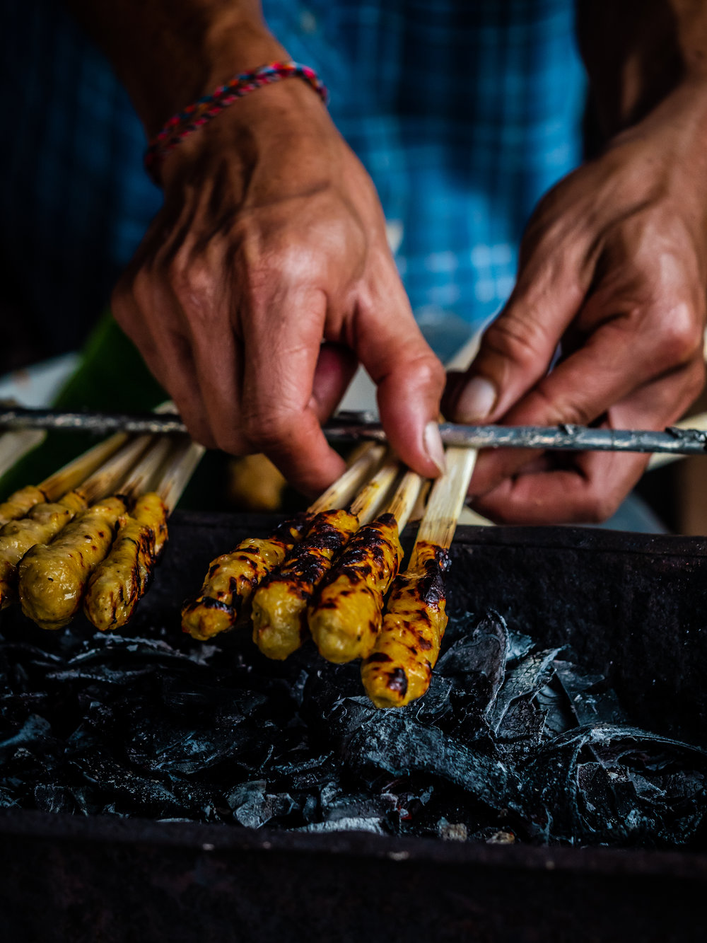 Muisngs by the Glass - Balinese Road Less Traveled - Satay Skewers