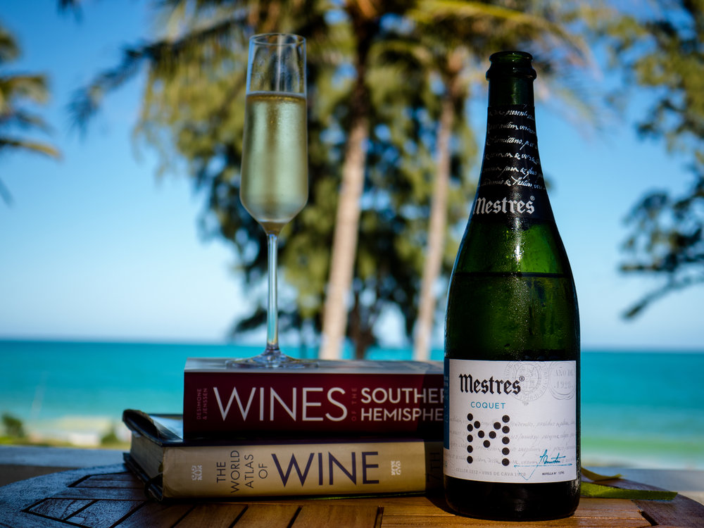 Musings by the Glass - The Wine Blog Reversion - Books, Bubbles, and Blue Waters