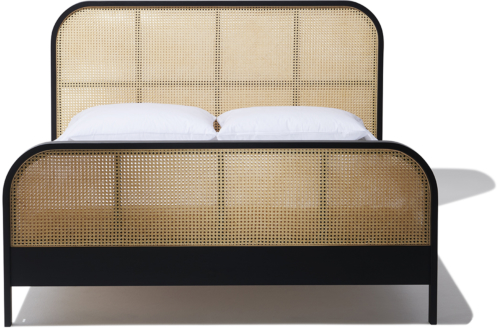 9.  Cane Queen Bed from Industry West  -  $3,900